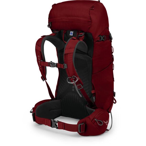 Osprey Kestrel 38 Backpack Herr rogue red