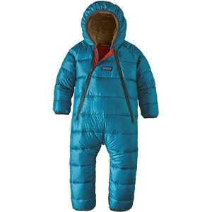 Patagonia Infant Hi-Loft Down Sweater Bunting Barn Balkan Blue Balkan Blue