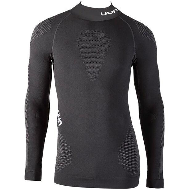 UYN Ambityon UW LS Turtle Neck Shirt Herr blackboard/black/white