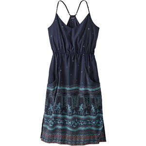 Patagonia Lost Wildflower Dress Dam forest song/neo navy forest song/neo navy