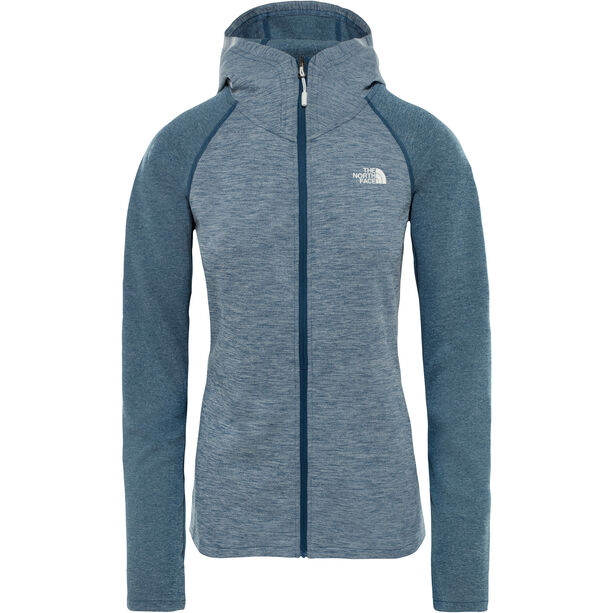 The North Face Invene Midlayer Dam blue wing teal heather