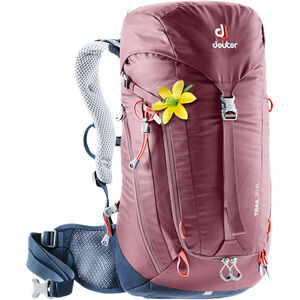 Deuter Trail 20 Backpack Dam maron/navy maron/navy