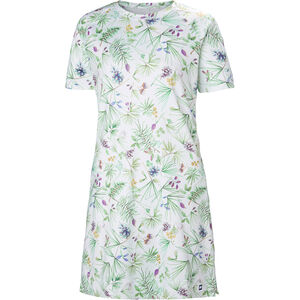 Helly Hansen Malla Dress Dam white print white print