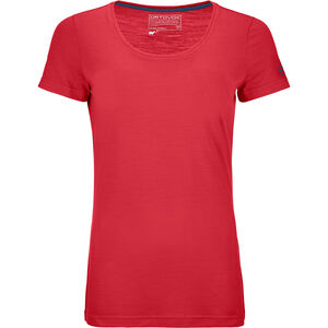 Ortovox 150 Cool Clean T-shirt Dam hot coral hot coral