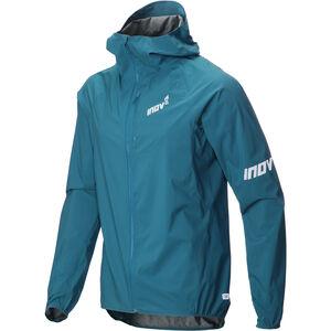 inov-8 AT/C FZ Stormshell Jacket Herr blue green blue green