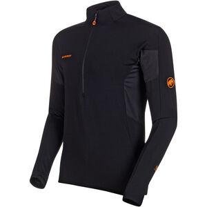 Mammut Moench Advanced Half Zip Longsleeve Shirt Herr black black