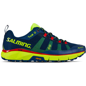 Salming Trail 5 Shoes Herr poseidon blue/safety yellow poseidon blue/safety yellow