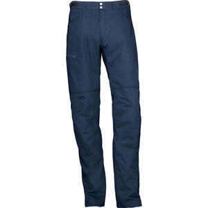Norrøna Svalbard Mid Cotton Pants Herr indigo night