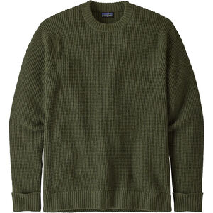 Patagonia Recycled Wool Sweater Herr Alder Green Alder Green