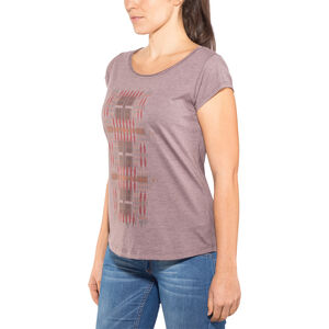 Prana Longline Tee Dam pillar of youth volcanic plum pillar of youth volcanic plum