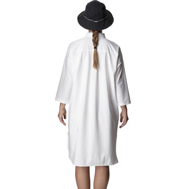Houdini Route Shirt Dress Dam powderday white