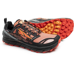 Altra Lone Peak 3 Low Neo Trail Running Shoes Herr black/orange black/orange