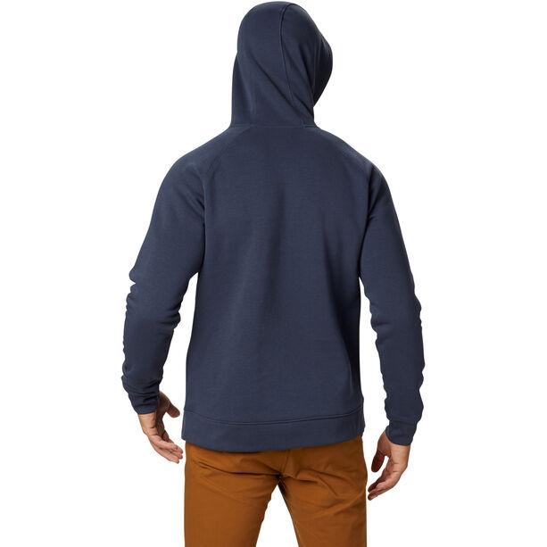 Mountain Hardwear Hardwear Logo Pullover Hoody Herr Dark Zinc