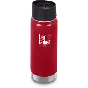 Klean Kanteen Wide Vacuum Insulated Bottle Café Cap 2.0 473ml mineral red mineral red