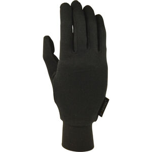 Extremities Silk Liner Gloves black black