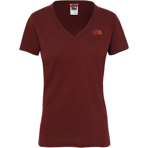 The North Face Simple Dome S/S Tee Dam Sequoia Red Sequoia Red