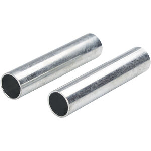 CAMPZ Sleeves for glass fibre poles 13mm Set of 2 silver silver