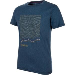 Mammut Sloper T-shirt Herr poseidon melange poseidon melange