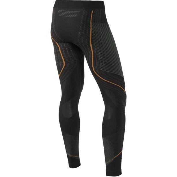 UYN Evolutyon UW Long Pants Herr charcoal/green/orange shiny