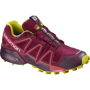Salomon Speedcross 4 GTX Shoes Dam beet red/potent purple/citronelle beet red/potent purple/citronelle