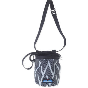 KAVU Peak Seeker Chalk Bag black zig zag black zig zag