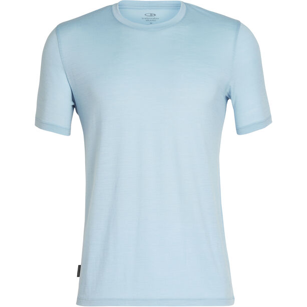 Icebreaker Tech Lite SS Crewe Shirt Herr sky