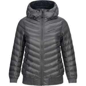 Peak Performance Ice Down Hooded Jacket Dam quiet grey quiet grey