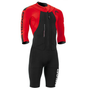 Head Swimrun Rough Shorty Suit Herr black-red black-red