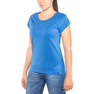 La Sportiva Chimney T-shirt Dam marine blue/cobalt blue marine blue/cobalt blue