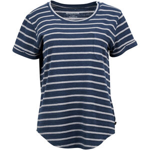 United By Blue Standard Striped SS Pocket Tee Dam orion blue orion blue
