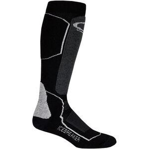 Icebreaker Ski+ Medium OTC Socks Herr black/oil/silver black/oil/silver
