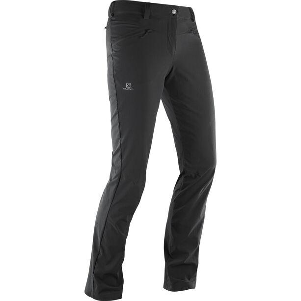Salomon Wayfarer LT Pants Regular Dam black