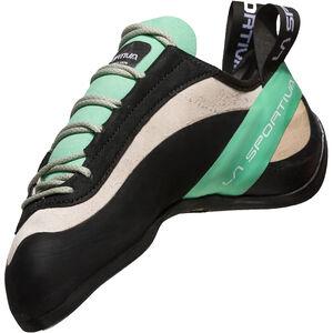 La Sportiva Miura Climbing Shoes Dam white/jade green white/jade green