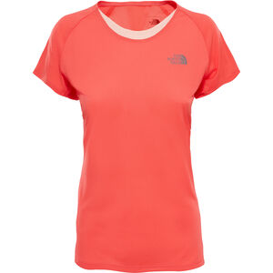 The North Face Better Than Naked S/S Shirt Dam cayenne red/tropical peach cayenne red/tropical peach