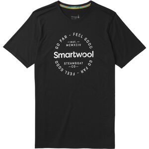 Smartwool Merino Sport 150 Go Far Feel Good Tee Herr black black