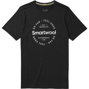 Smartwool Merino Sport 150 Go Far Feel Good Tee Herr black black