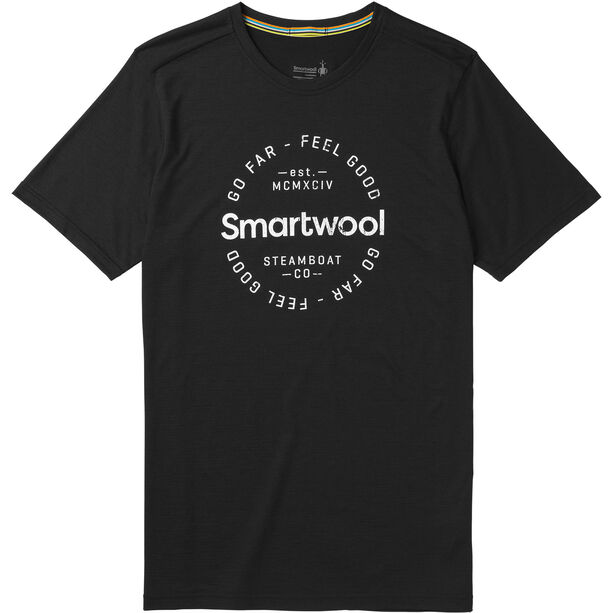 Smartwool Merino Sport 150 Go Far Feel Good Tee Herr black