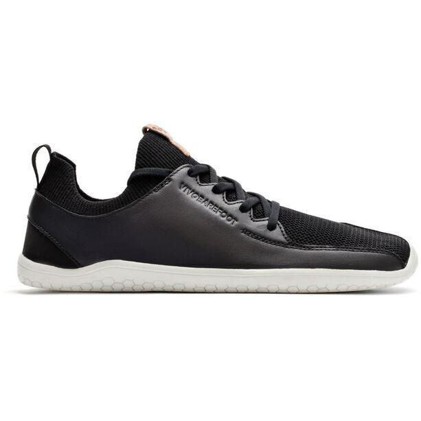 Vivobarefoot PrImus KnIt Leather Shoes Herr black