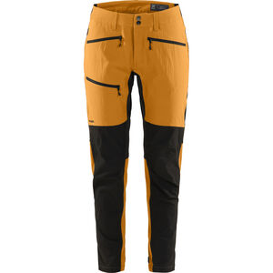 Haglöfs Rugged Flex Pants Dam Desert Yellow/True Black  Desert Yellow/True Black