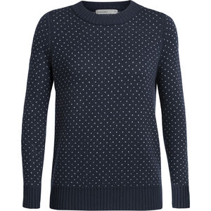 Icebreaker Waypoint Crewe Sweater Dam midnight navy midnight navy