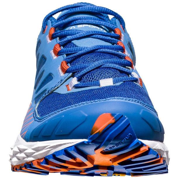 La Sportiva Lycan Shoes Dam marine blue/lily orange