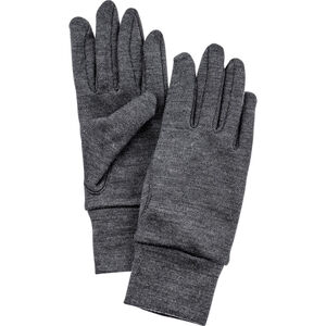 Hestra Heavy Merino Gloves 5-Finger grå grå