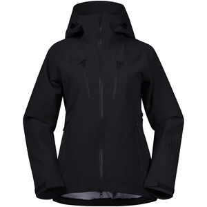 Bergans Oppdal Jacket Dam black/solid charcoal black/solid charcoal