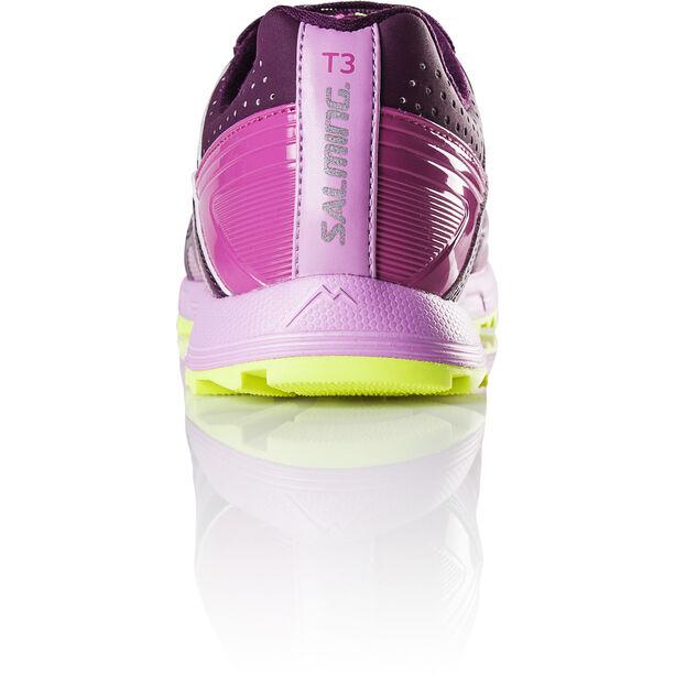 Salming Trail T3 Shoes Dam dark orchid/azalea pink