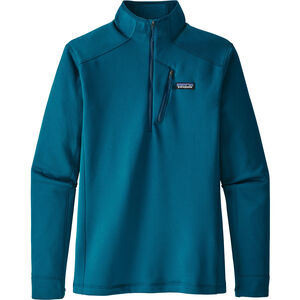 Patagonia Crosstrek 1/4 Zip Shirt Herr big sur blue big sur blue