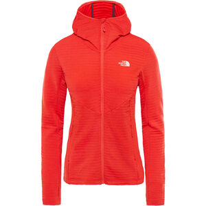 The North Face Impendor Light Midlayer Hoodie Dam juicy red dark heather juicy red dark heather