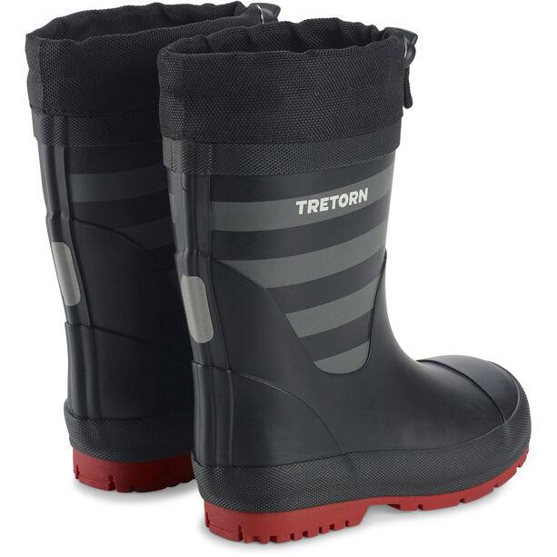 Tretorn Gränna Vinter Rubber Boots Barn black/grey