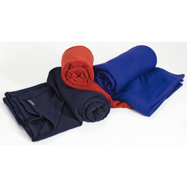 Cocoon Blanket Merino Wool/Silk graphite blue