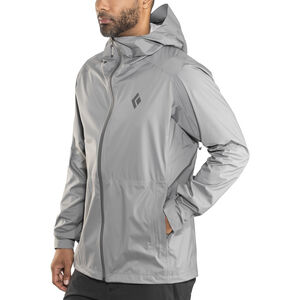 Black Diamond Stormline Stretch Rain Shell Jacket Herr ash ash