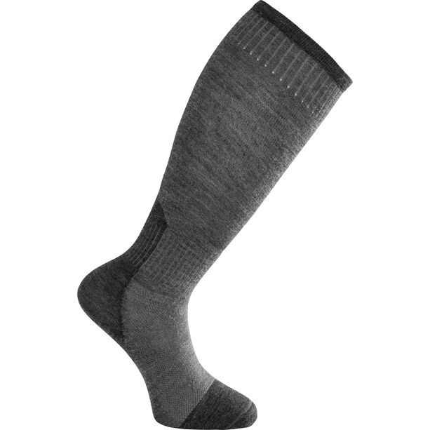 Woolpower Skilled Liner Knee-High Socks Dark Grey/Grey